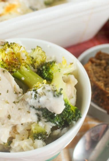 Weight Watchers Chicken Broccoli Casserole