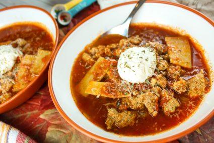 Weight Watchers Lasagna Soup