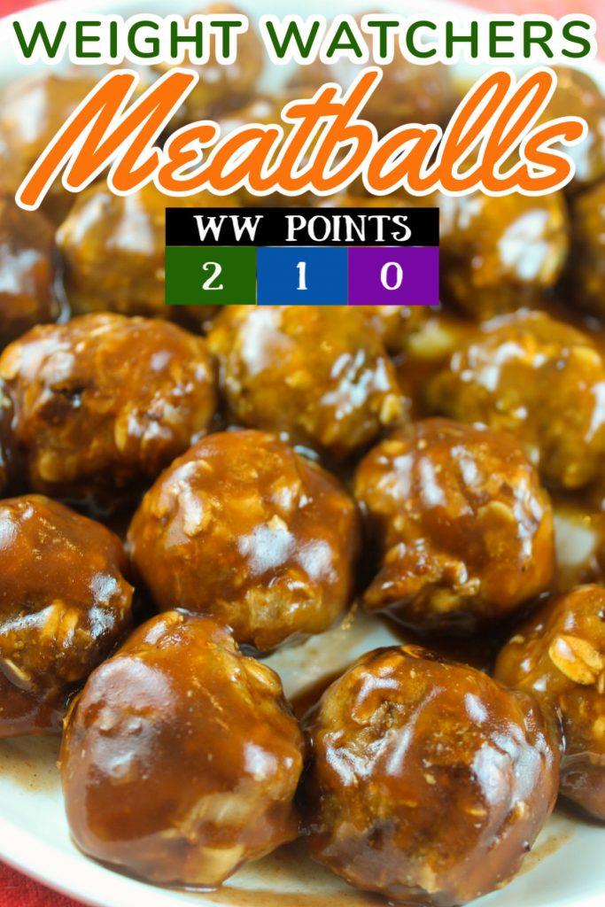Weight Watchers Meatballs