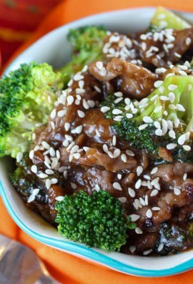 Weight Watchers Beef & Broccoli