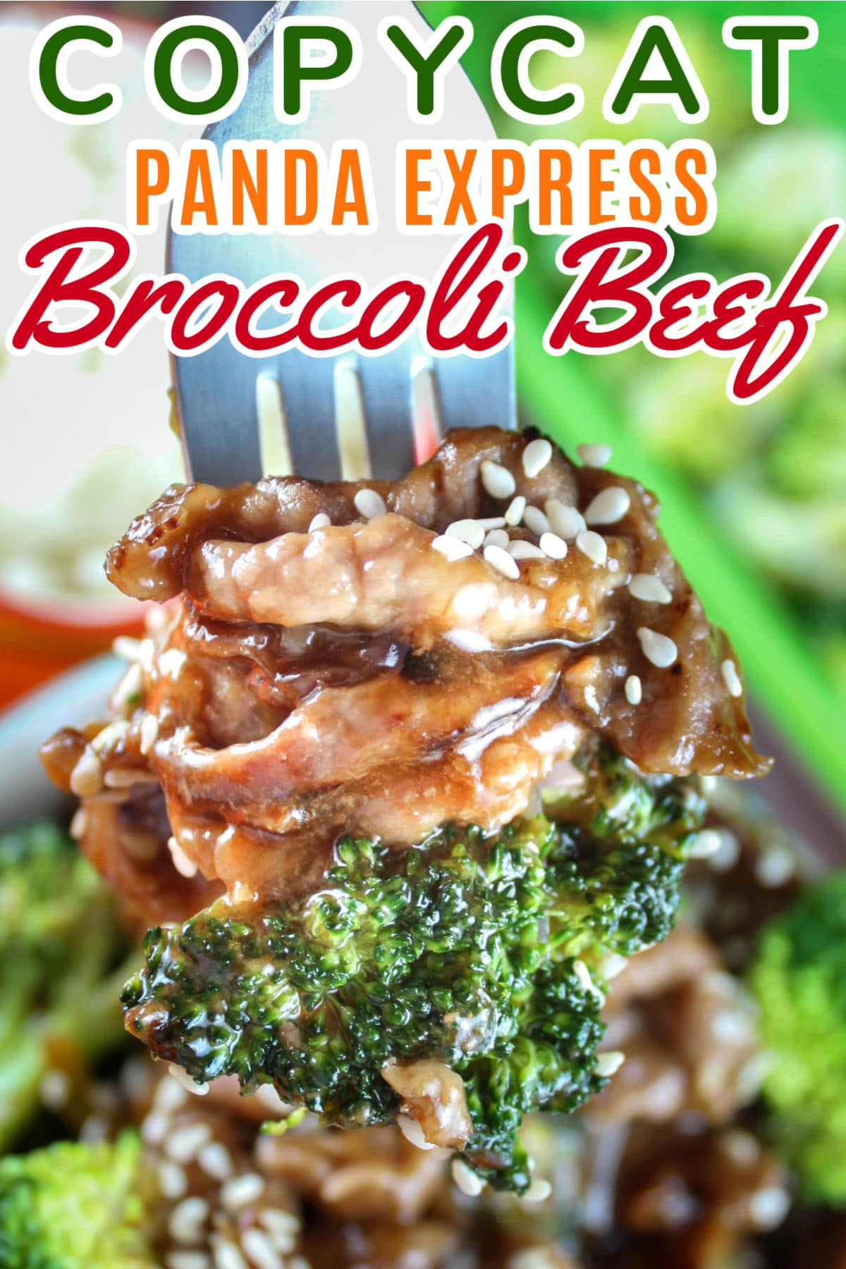 This Copycat Panda Express Broccoli Beef recipe is also Weight Watchers friendly! A rich homemade teriyaki sauce and loads of fresh broccoli! This has quickly become a favorite because you can make it in about 10 minutes.  via @foodhussy