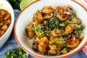 Copycat Panera Teriyaki Chicken & Broccoli Bowl