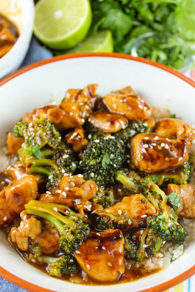 Copycat Panera Teriyaki Chicken & Broccoli Bowl