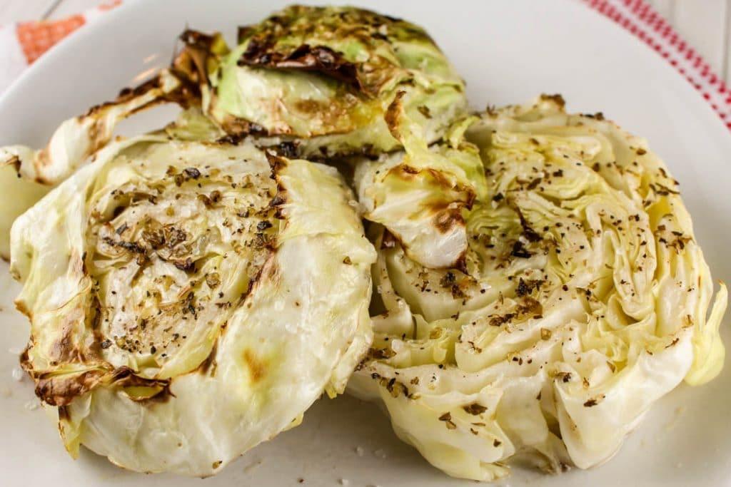 Air Fryer Cabbage Steaks