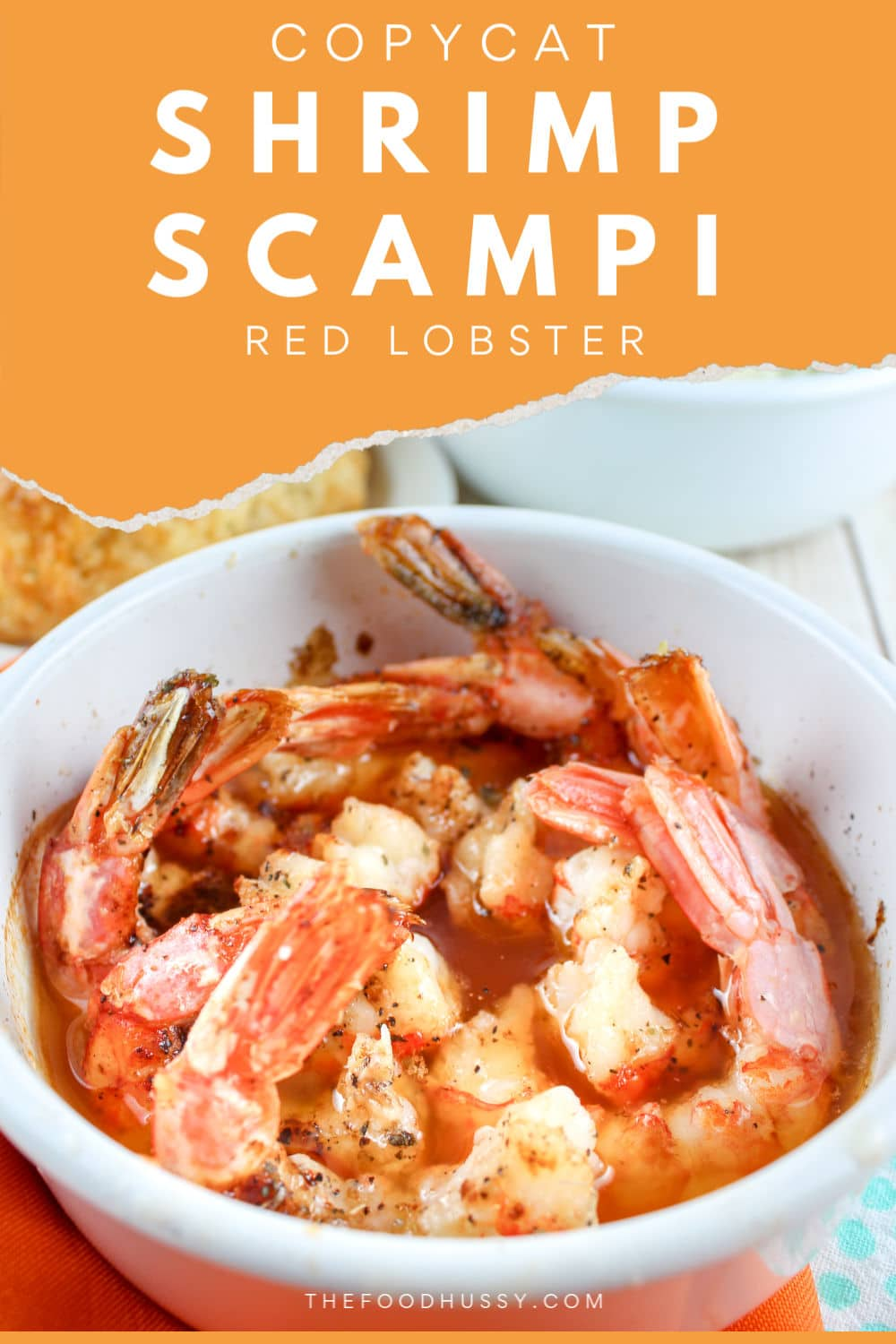 Red Lobster's Shrimp Scampi has always been one of my favorite dishes and I can't believe HOW EASY it is to make at home!!!! This copycat version is spot on – and so simple! via @foodhussy