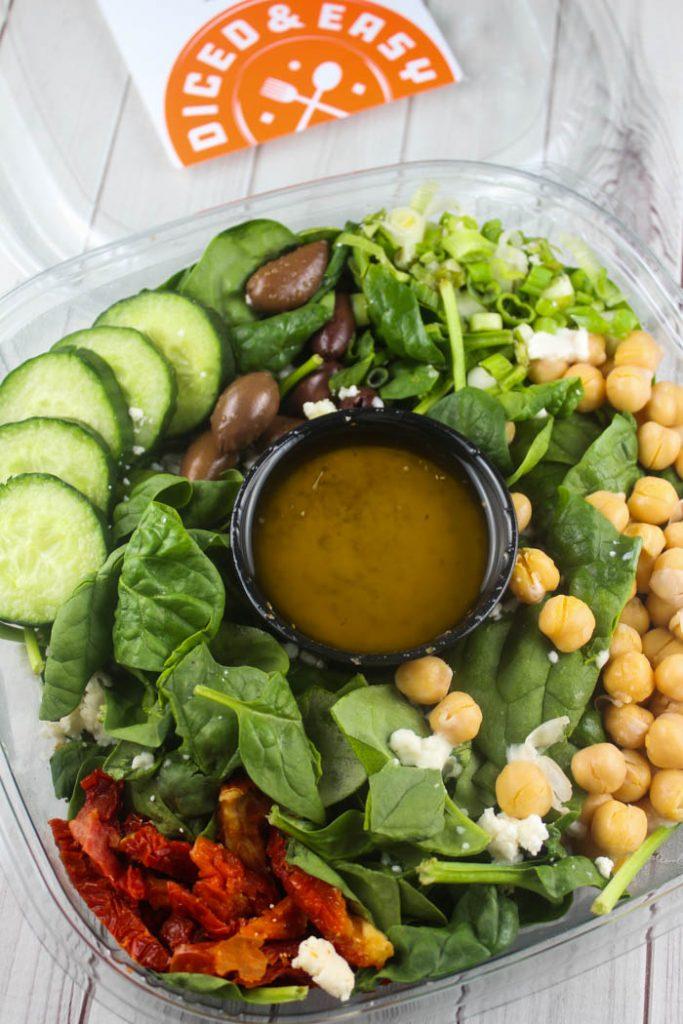 Diced & Easy Greek Salad
