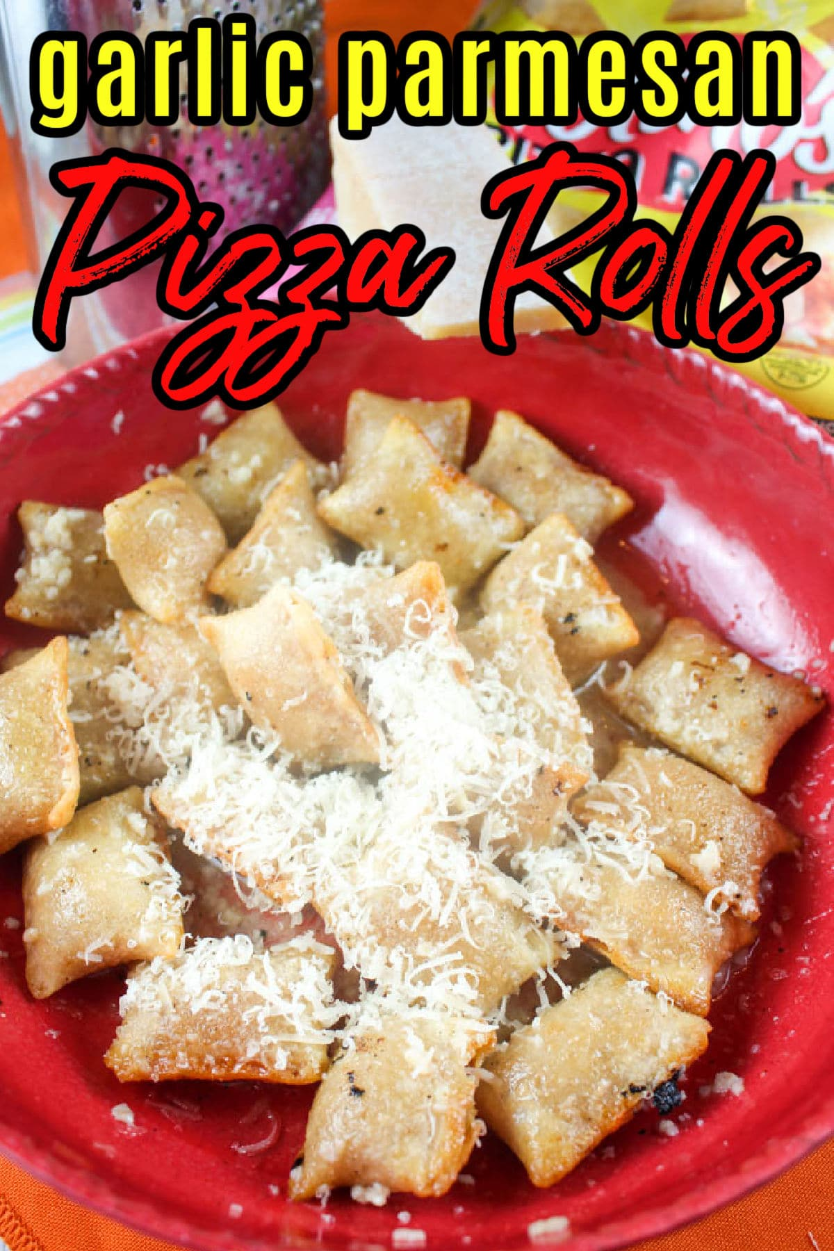 Pizza rolls in the air fryer are a game changer when it comes to snack foods! I took these pizza rolls and knocked them out of the park by tossing them in garlic parmesan butter! (I saw it on the Instagram!)  via @foodhussy