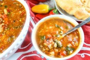 Copycat Panera Ten Vegetable Soup