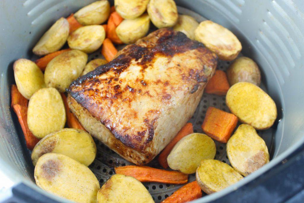 Air Fryer Pork Loin Roast