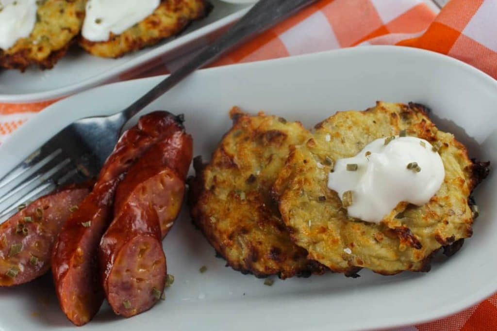 Air Fryer Potato Pancakes