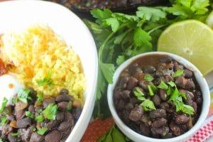 Copycat Chipotle Black Beans