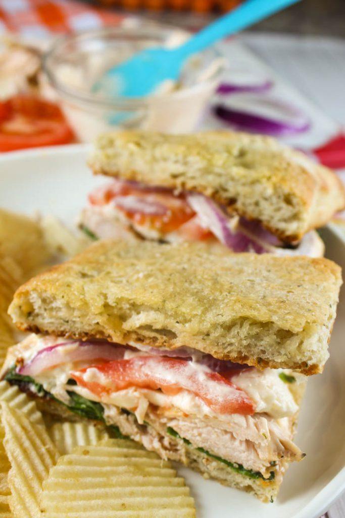 Copycat Panera Frontega Chicken Sandwich
