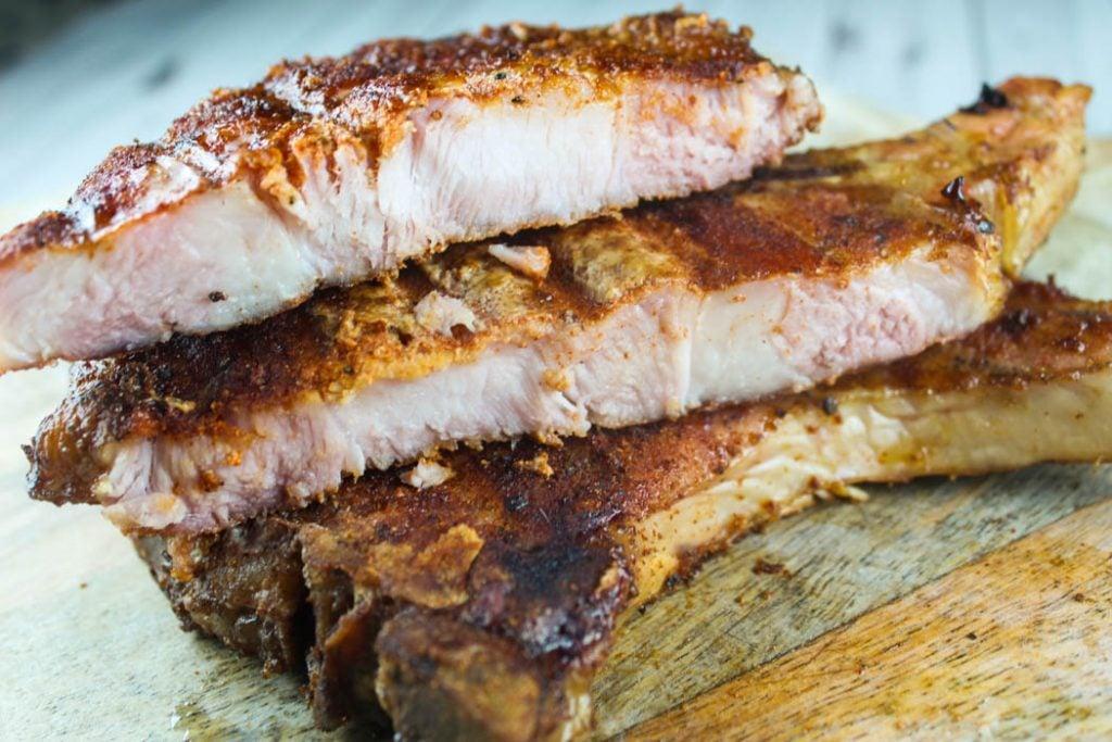 Traeger Smoked Pork Chops