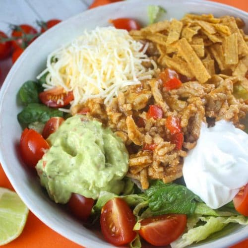 Weight Watchers Taco in a Bowl