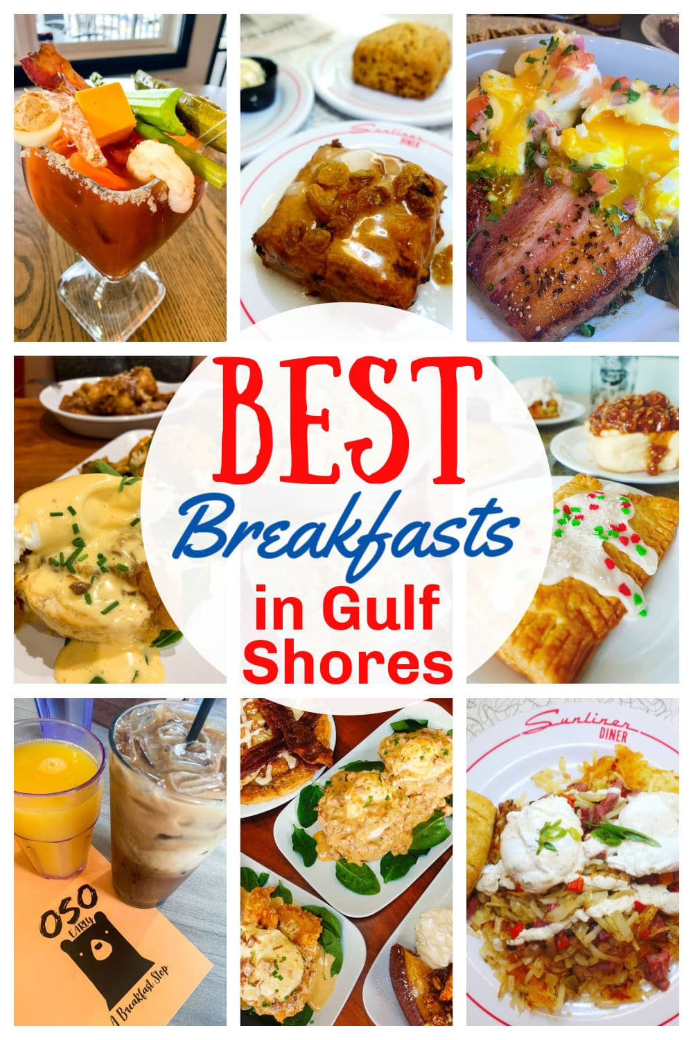 These are the BEST breakfasts in Gulf Shores! I recently went on vacation down there and it's always my favorite spot. My favorite meal of the day is breakfast and I have definitely eaten my way through Gulf Shores – so you can trust me on this one! via @foodhussy
