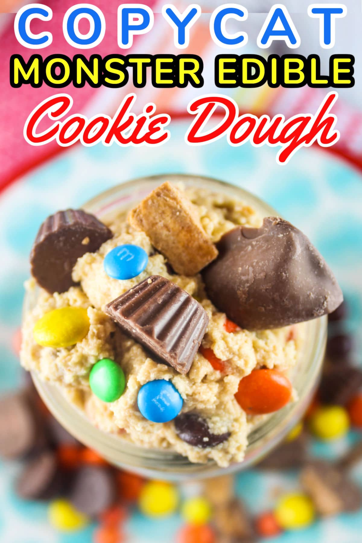 Edible Peanut Butter Monster Cookie Dough from The Yard in Gulf Shores is a must-have when you're visiting - but in the meantime - you can make this version at home!  via @foodhussy