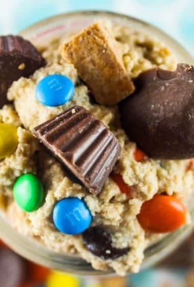 Copycat Edible Monster Cookie Dough