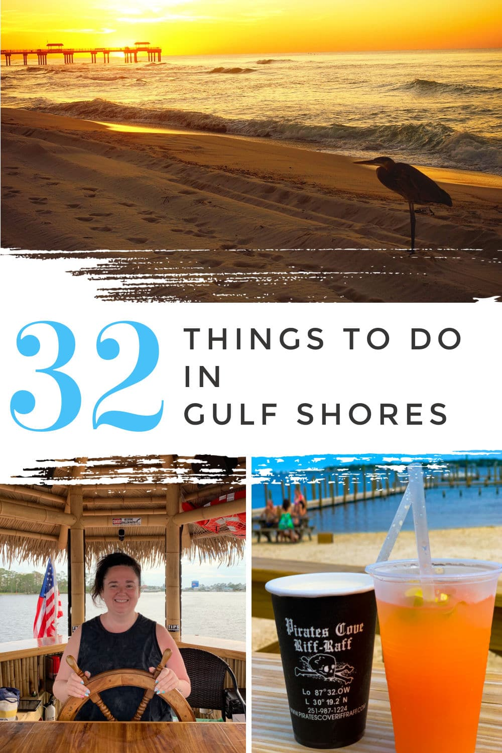 When you're planning your visit to Gulf Shores, here are 32 things to do for folks of all ages! I've been a few times, and will keep going back - it's so much fun! Whether you want to fish, beach, eat, drink or see the sites - I've got it on the list. This is a checklist of the best things to do on your vacation: via @foodhussy