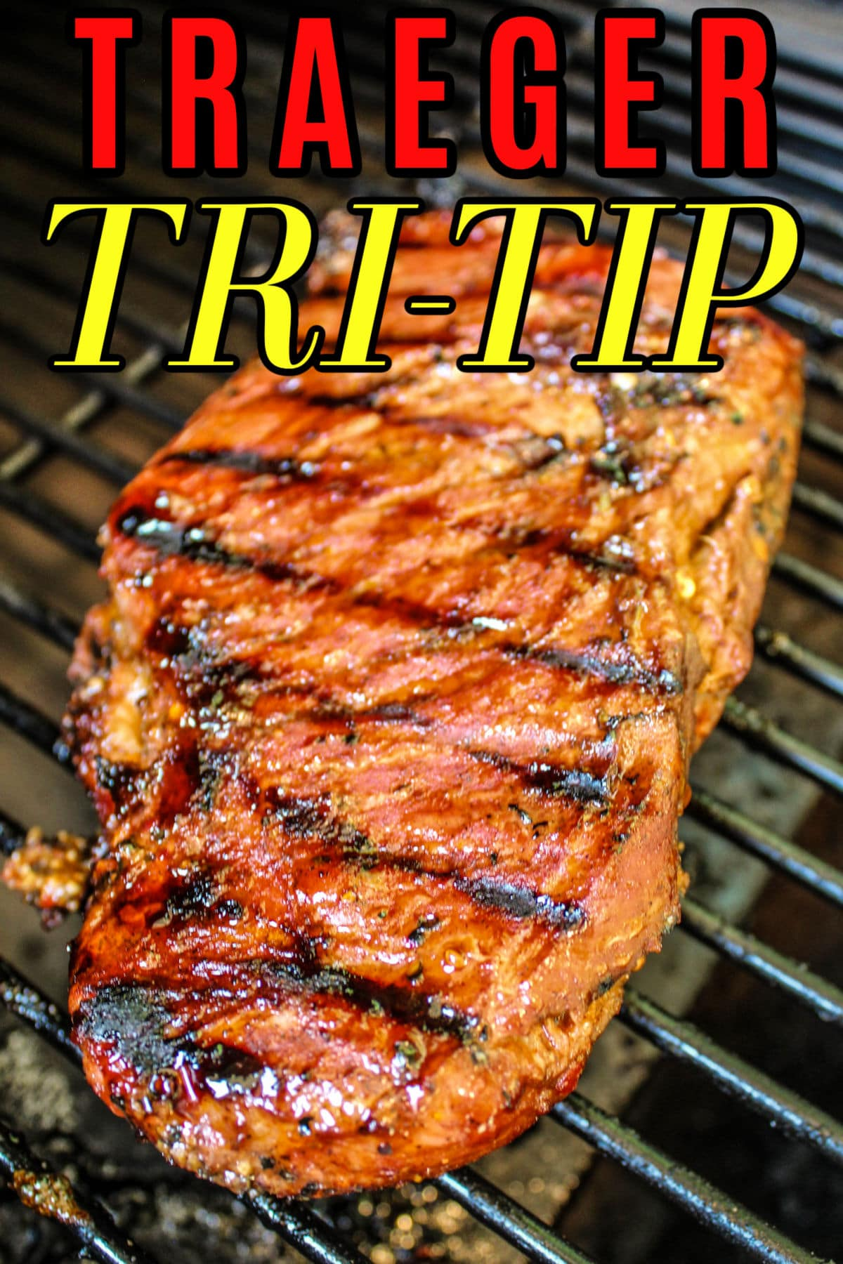 Traeger Smoked Tri Tip is everything a steak should be: juicy, flavorful, and drool-worthy. A reverse sear makes it even simpler to finish off - everyone will love it!  via @foodhussy