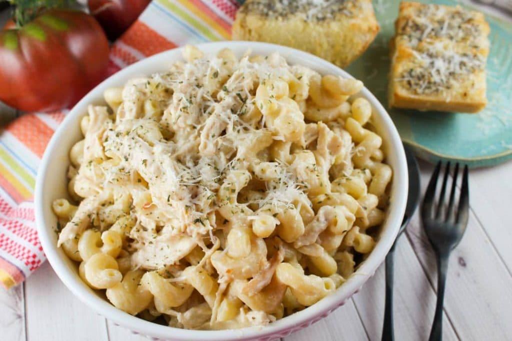 Olive Garden Dressing Chicken Pasta Recipe