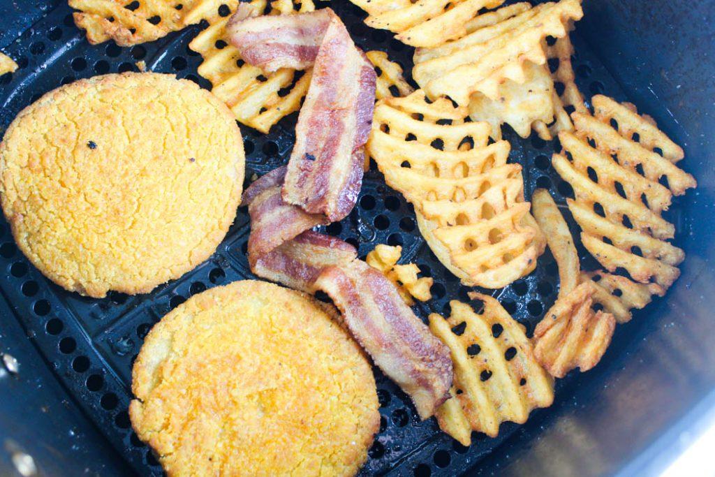 Air Fryer Frozen Chicken Patties