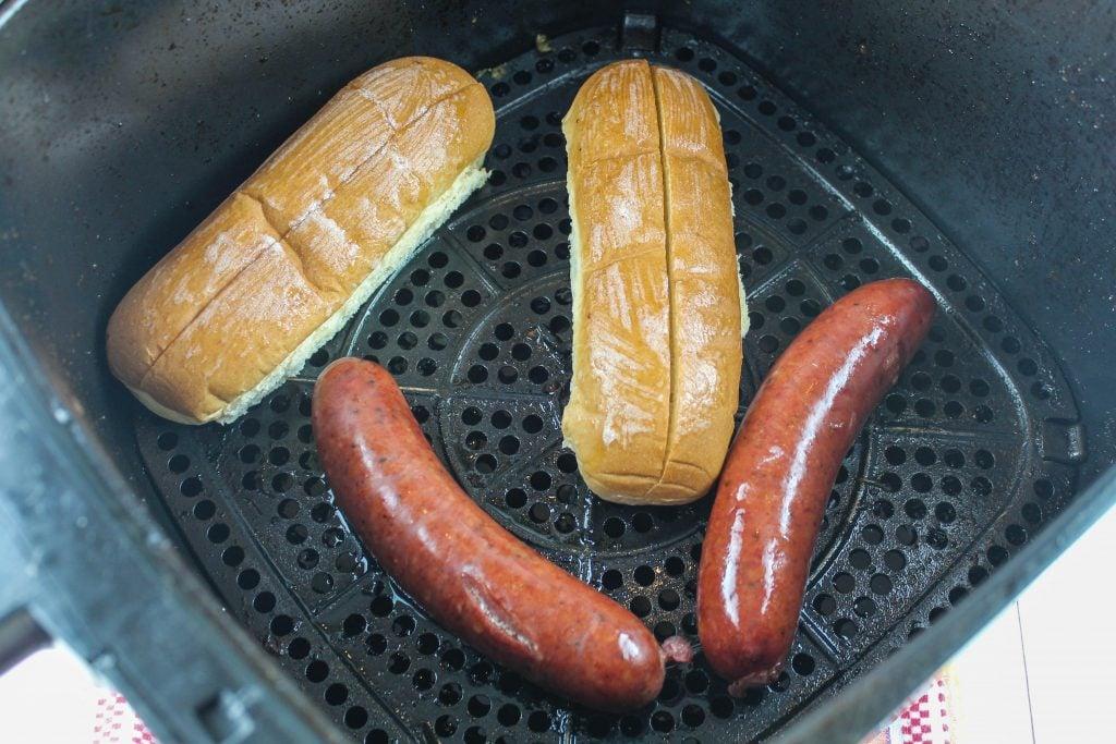 air fryer smoked sausage