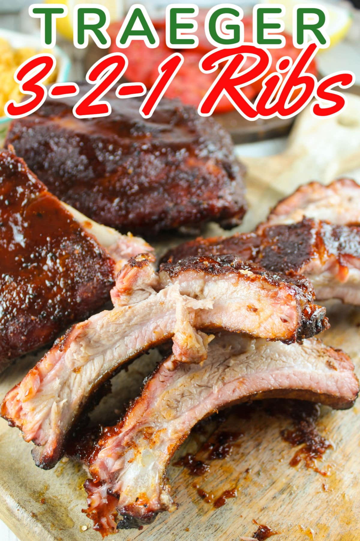 Traeger 3-2-1 Ribs are so freakin simple!!!! Like - why did I not make these 2 years ago when I got my Traeger???? And all you need is a rub, a little sauce and a little juice (or soda - or beer - just open the fridge). And don't worry -they're delicious too!!! via @foodhussy
