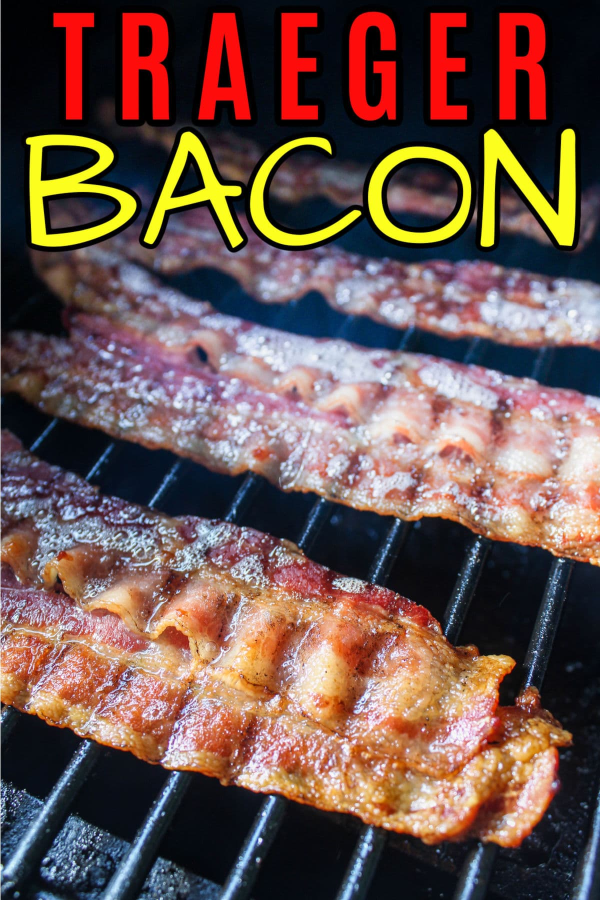 Traeger Grilled Bacon may now be my favorite way to make bacon!!! It's super simple - pop it on the grill and let it go - and it comes out magical! The bacon is crispy in all the right spots but the fatty part still has flavor. Oh man - I could have eaten the whole pound!   via @foodhussy
