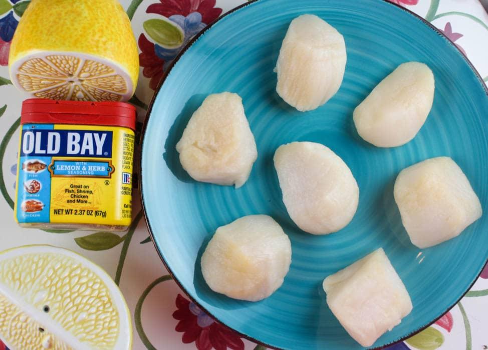 Air Fried Scallops