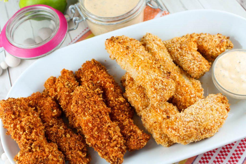 Air Fryer Buffalo Chicken Fries