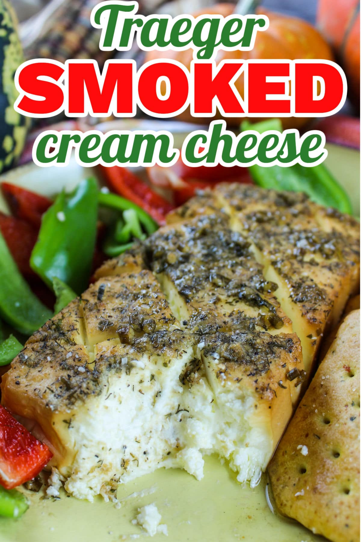 Smoked cream cheese is the appetizer you never knew you needed! It's so simple and so delicious! I made a savory and a dessert option and still can't decide which I like better! They're also good hot or cold. Perfect appetizer for any afternoon of grilling. via @foodhussy