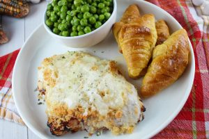 Parmesan Crusted Chicken in the Air Fryer